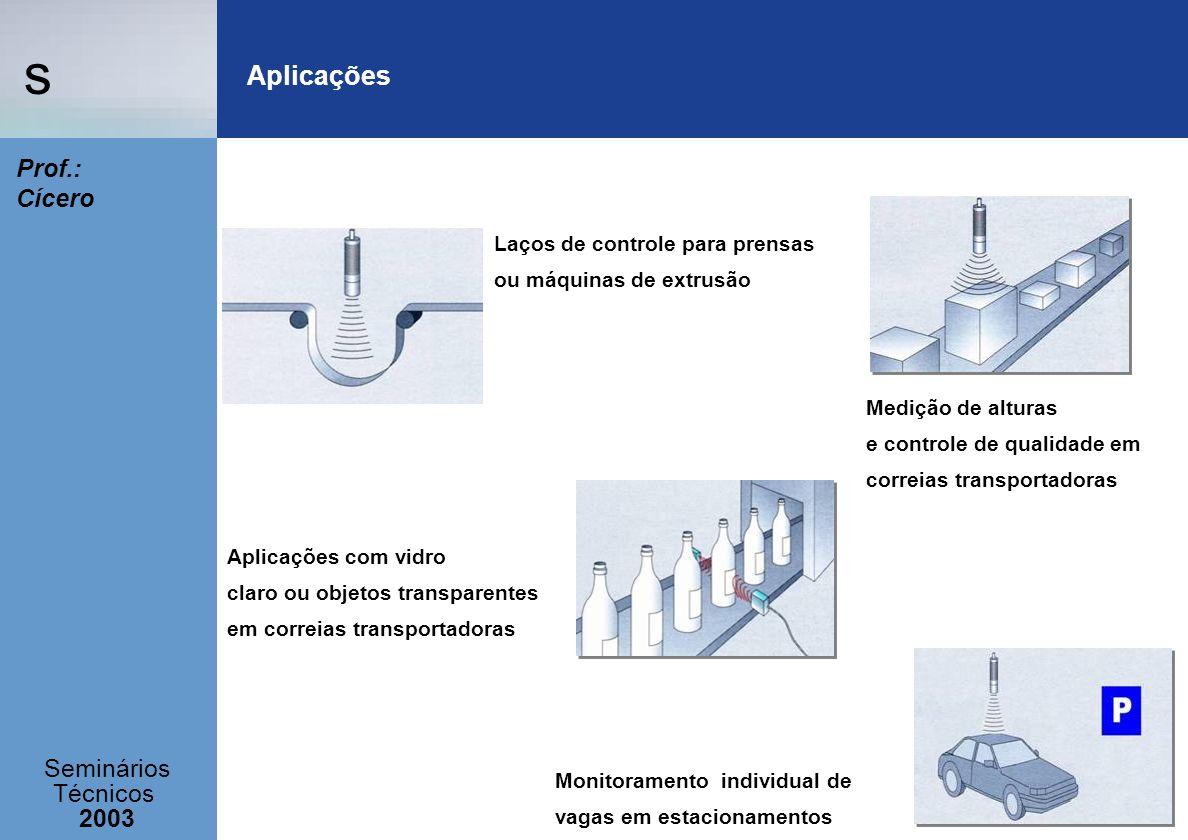 Aplicações Laços de controle para prensas ou máquinas de extrusão