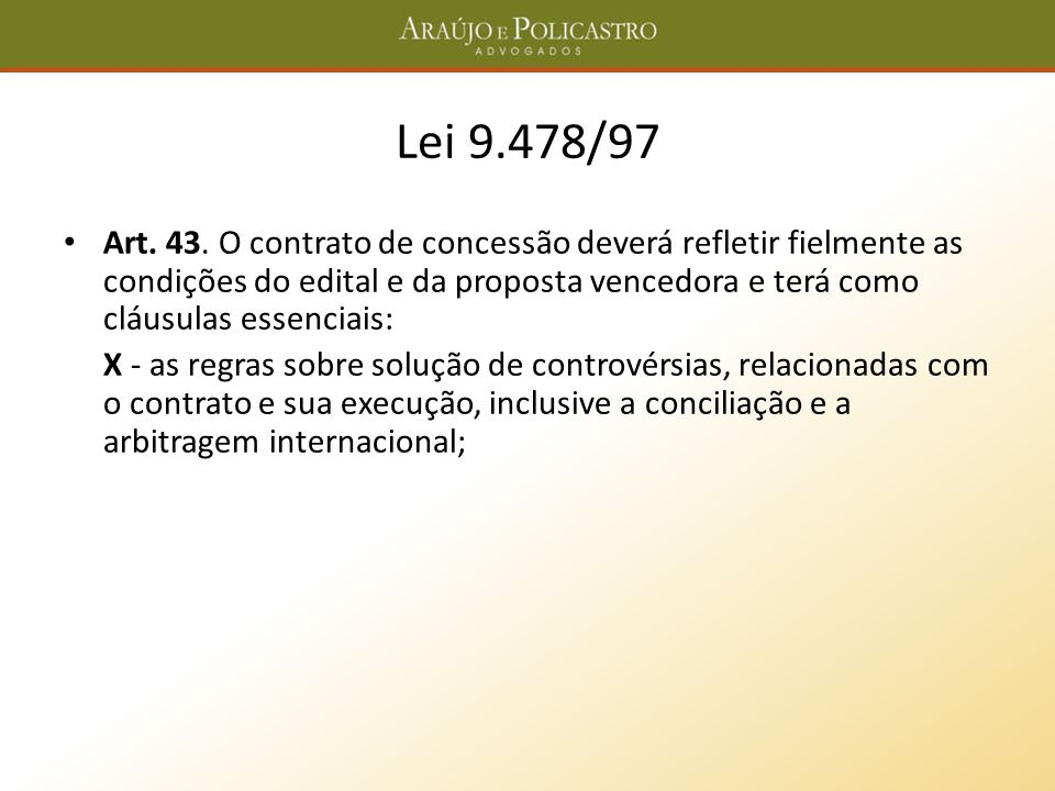 Lei 9.478/97