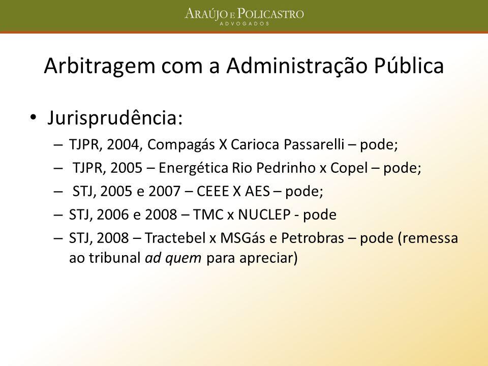 Arbitragem com a Administração Pública