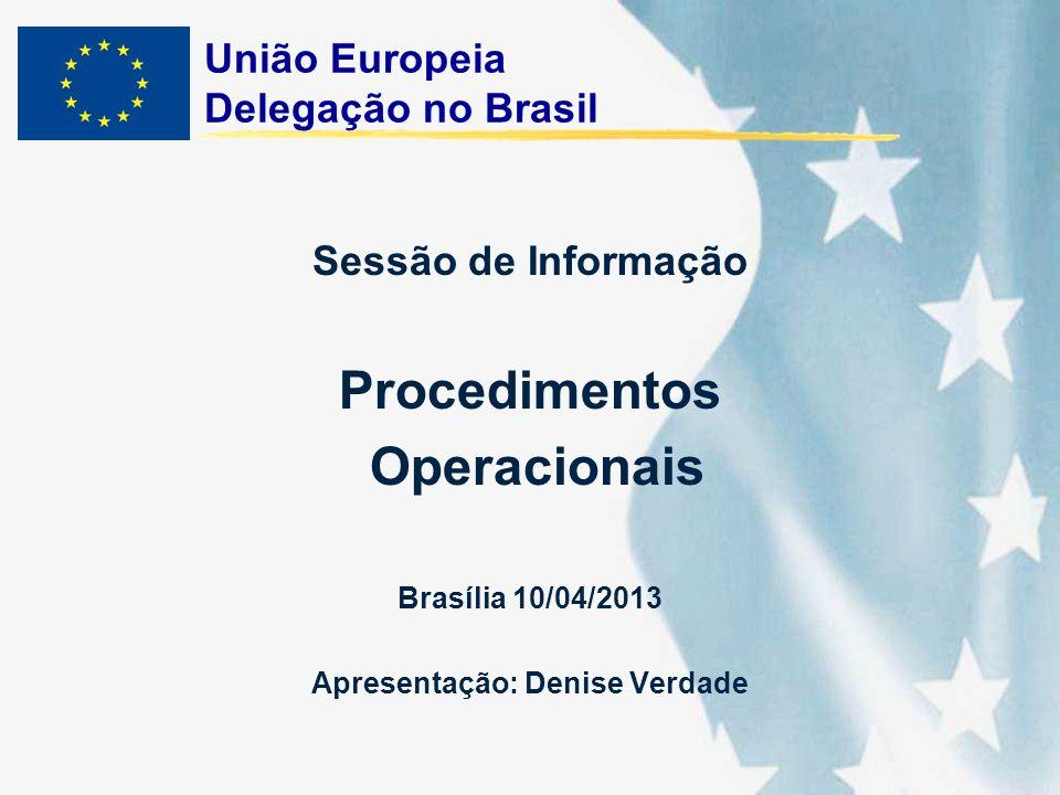 União Europeia Delegação no Brasil