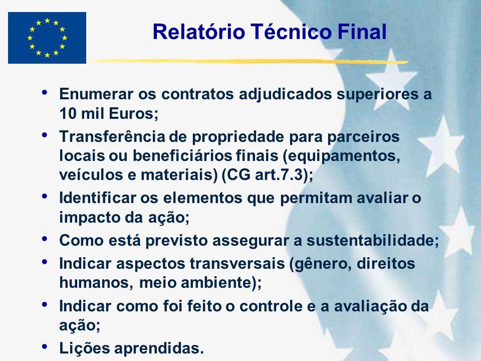Relatório Técnico Final