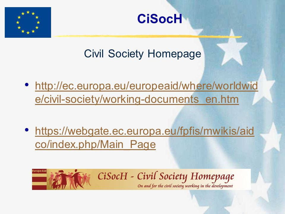 Civil Society Homepage