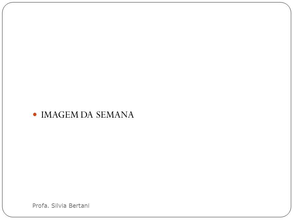 IMAGEM DA SEMANA Profa. Silvia Bertani