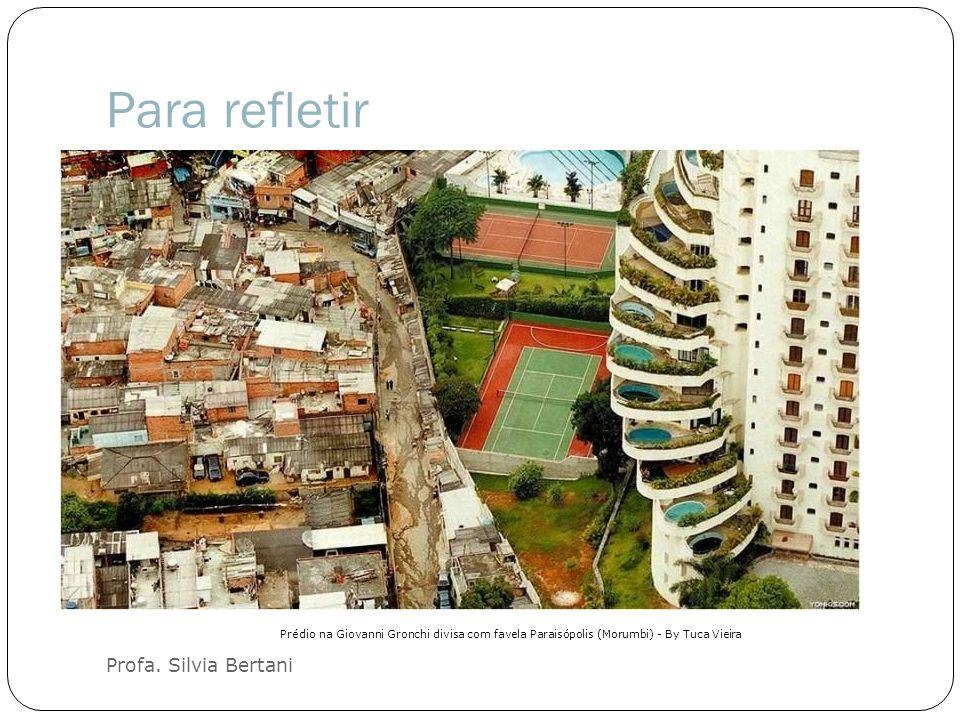 Para refletir Profa. Silvia Bertani