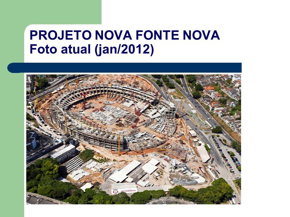 PROJETO NOVA FONTE NOVA Foto atual (jan/2012)