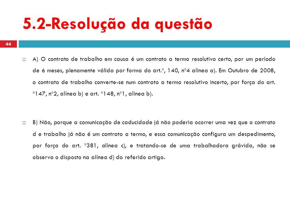 5.2-Resolução da questão