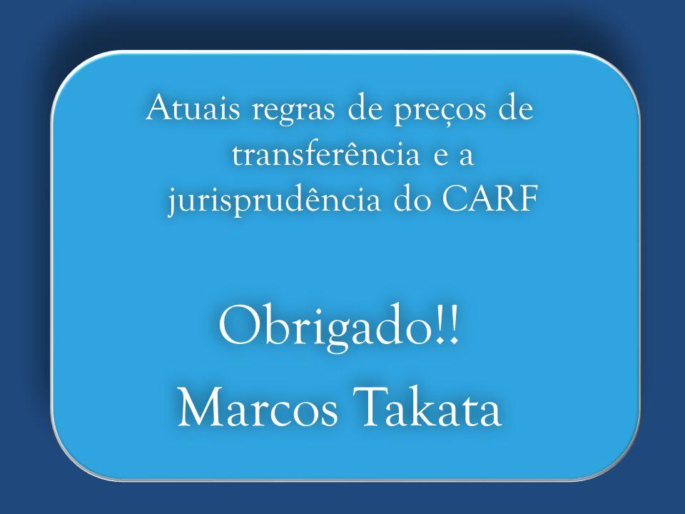 Atuais regras de preços de transferência e a jurisprudência do CARF