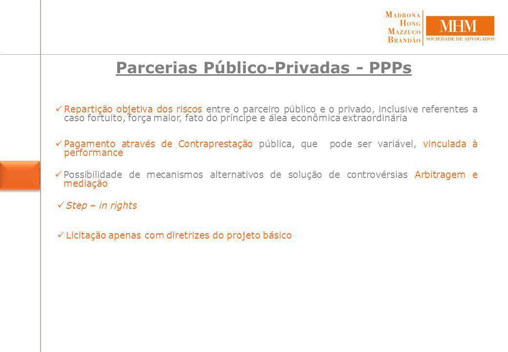 Parcerias Público-Privadas - PPPs