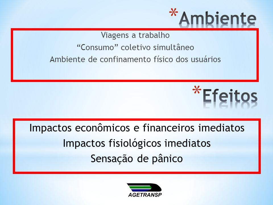 Ambiente Efeitos Impactos econômicos e financeiros imediatos
