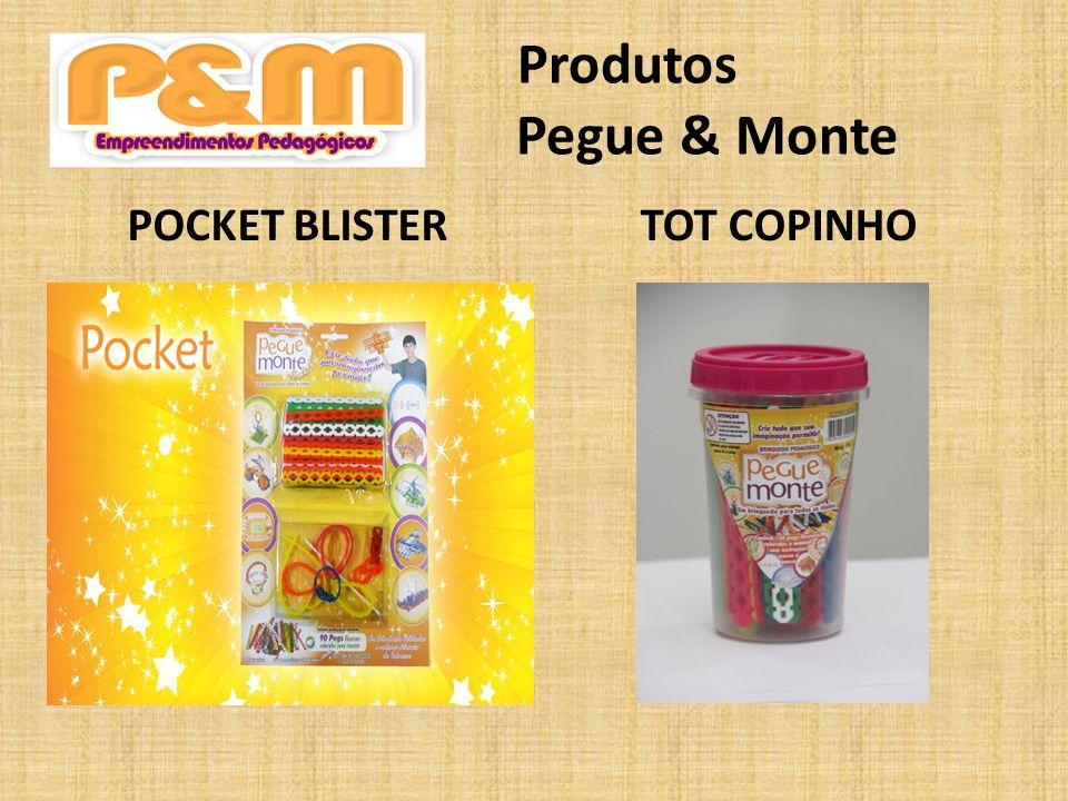 Produtos Pegue & Monte POCKET BLISTER TOT COPINHO