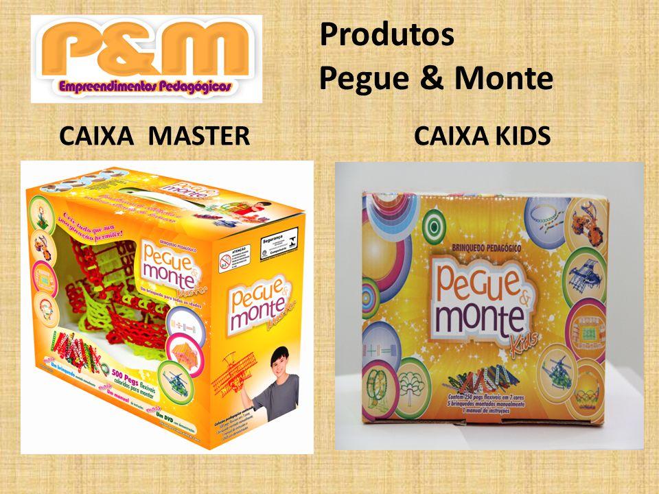 Produtos Pegue & Monte CAIXA MASTER CAIXA KIDS