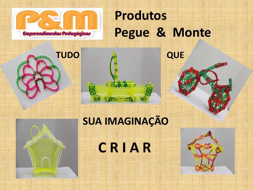 Produtos Pegue & Monte TUDO QUE SUA IMAGINAÇÃO C R I A R