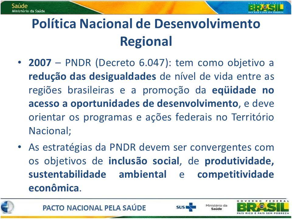 Política Nacional de Desenvolvimento Regional