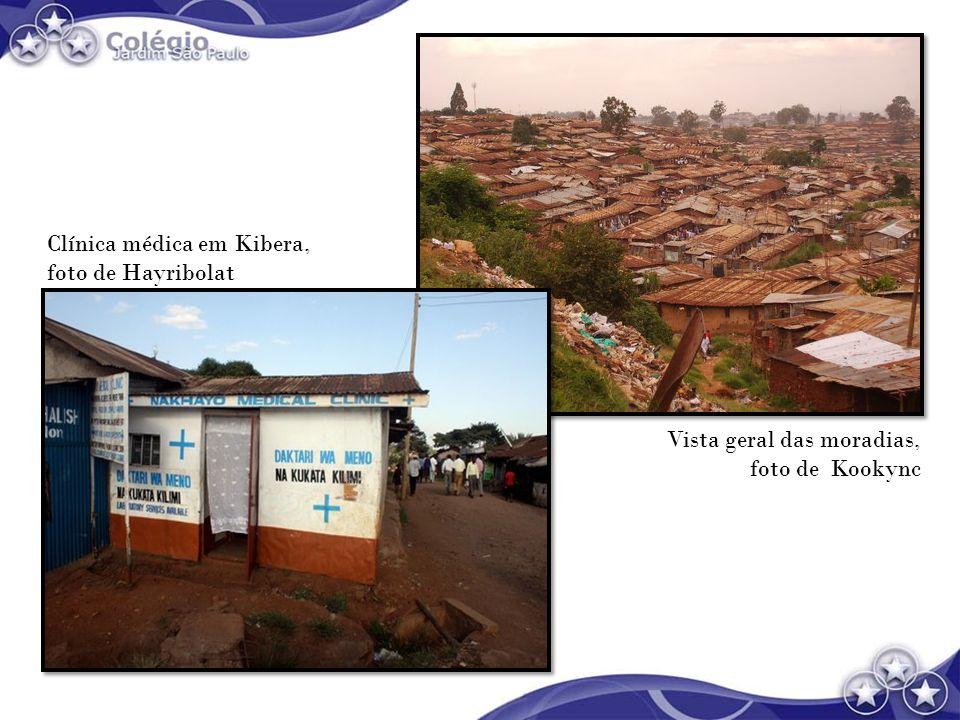Clínica médica em Kibera,