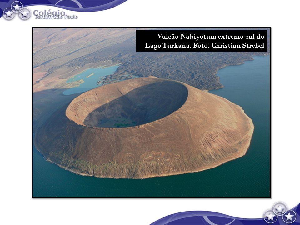 Vulcão Nabiyotum extremo sul do