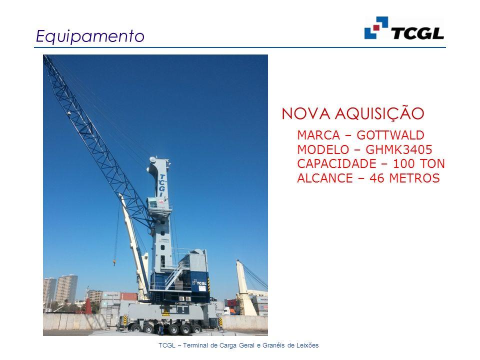 Equipamento NOVA AQUISIÇÃO MARCA – GOTTWALD MODELO – GHMK3405
