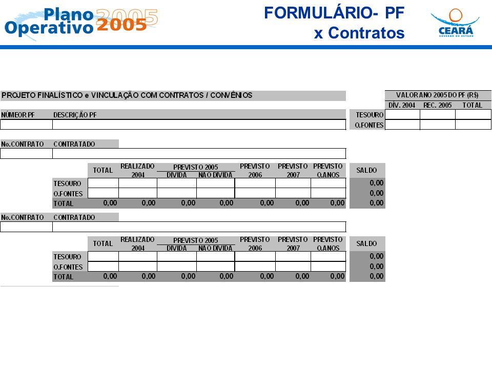 FORMULÁRIO- PF x Contratos