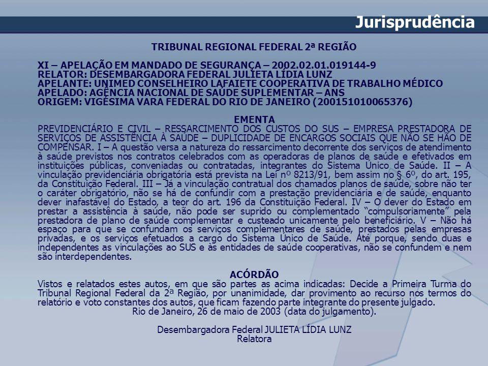 TRIBUNAL REGIONAL FEDERAL 2ª REGIÃO
