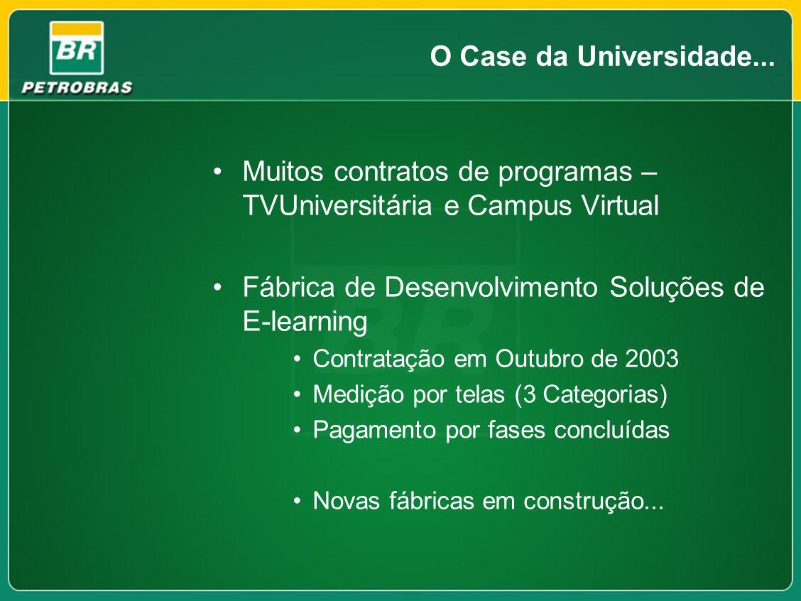 Muitos contratos de programas – TVUniversitária e Campus Virtual