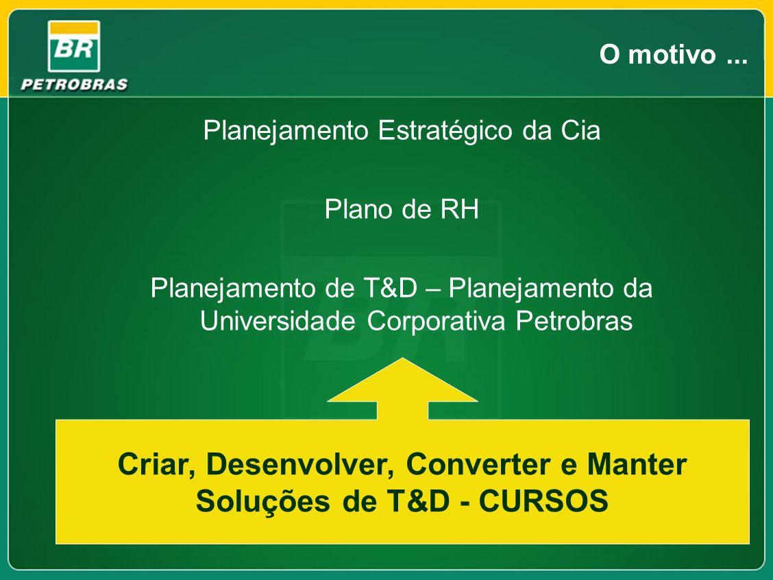Criar, Desenvolver, Converter e Manter Soluções de T&D - CURSOS