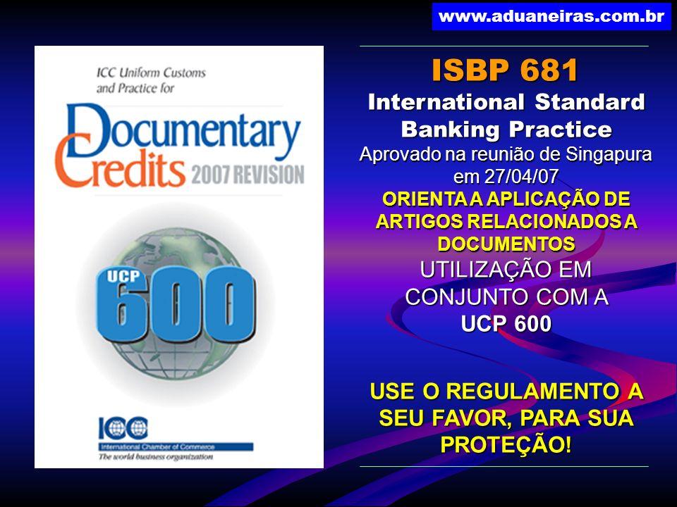 ISBP 681 International Standard Banking Practice