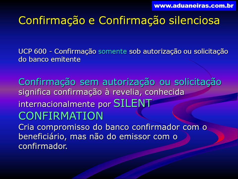 Confirmação e Confirmação silenciosa