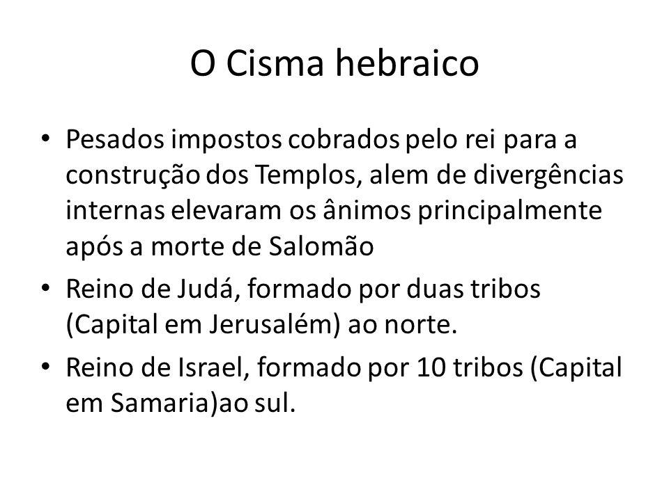 O Cisma hebraico