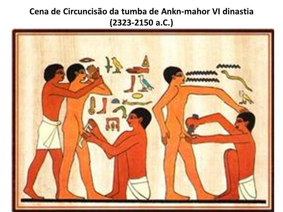 Cena de Circuncisão da tumba de Ankn-mahor VI dinastia (2323-2150 a. C