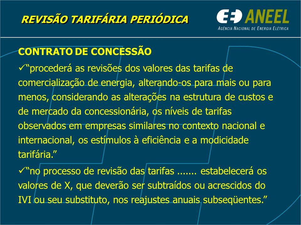 REVISÃO TARIFÁRIA PERIÓDICA