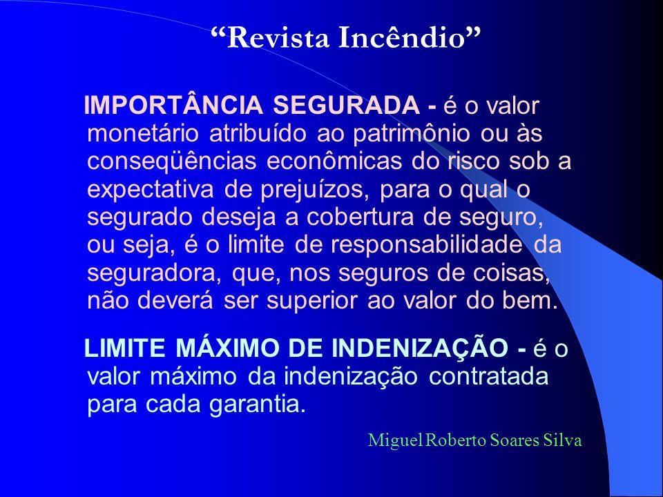 Revista Incêndio Miguel Roberto Soares Silva