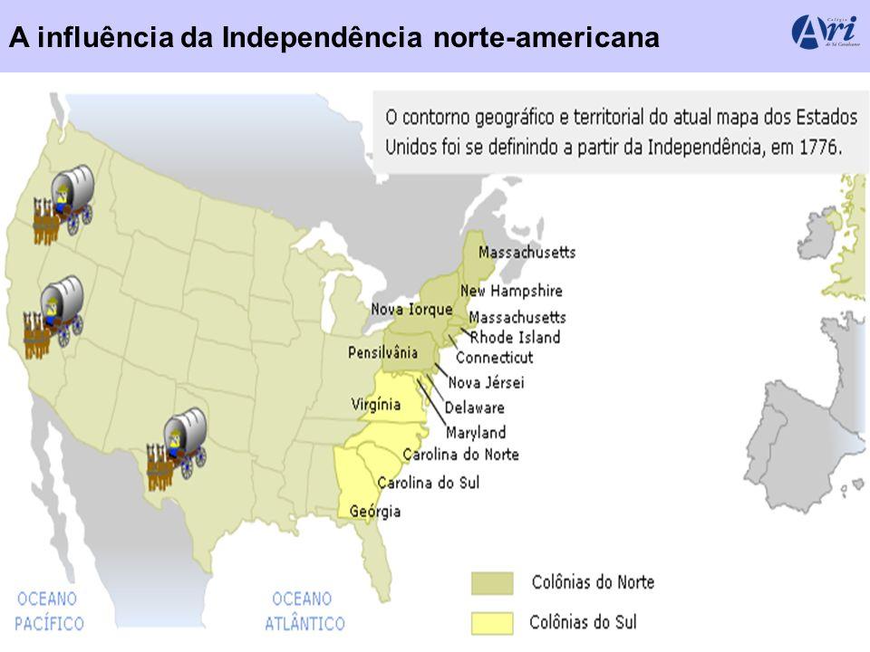 MENU A influência da Independência norte-americana