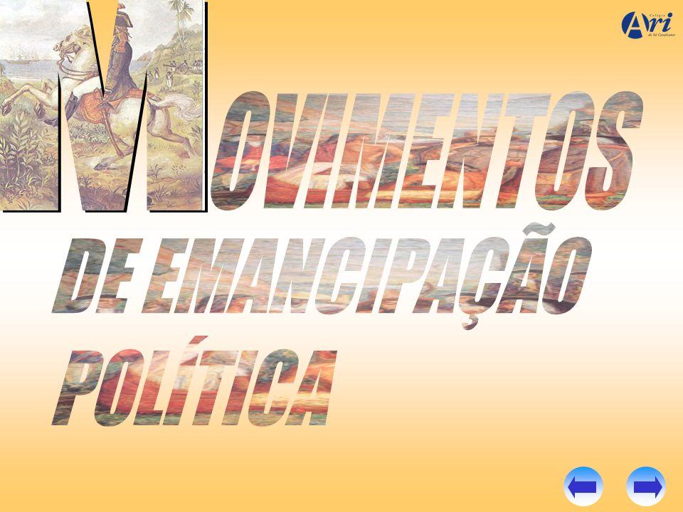 M OVIMENTOS DE EMANCIPAÇÃO POLÍTICA