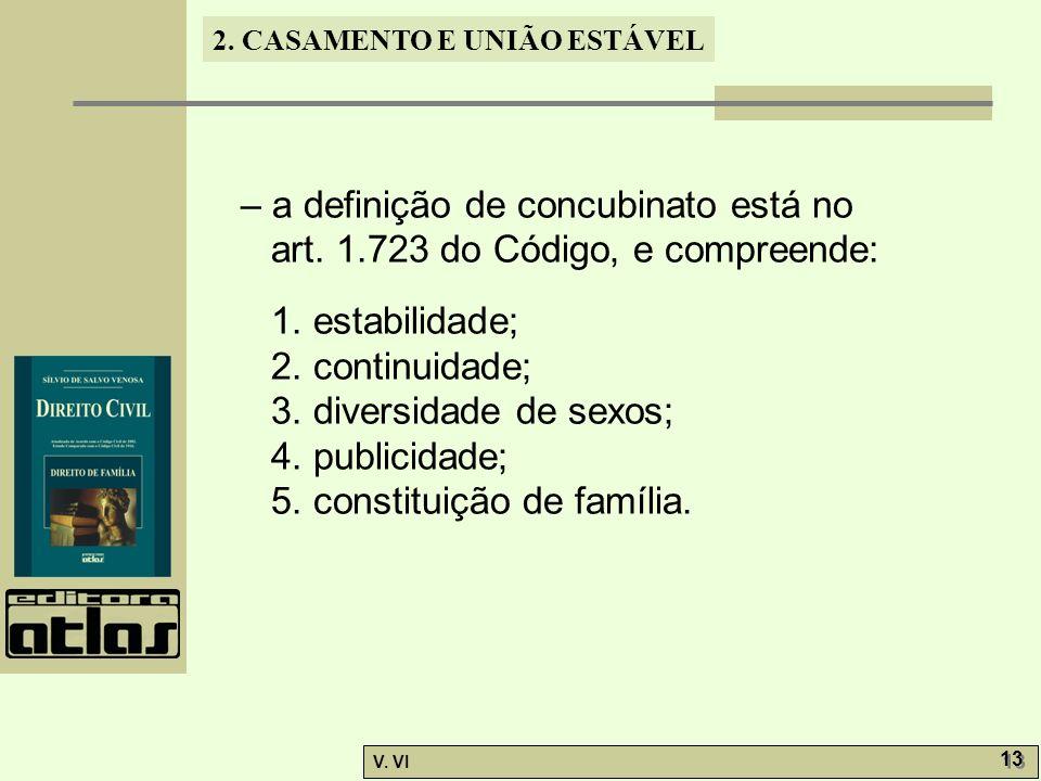 – a definição de concubinato está no art. 1