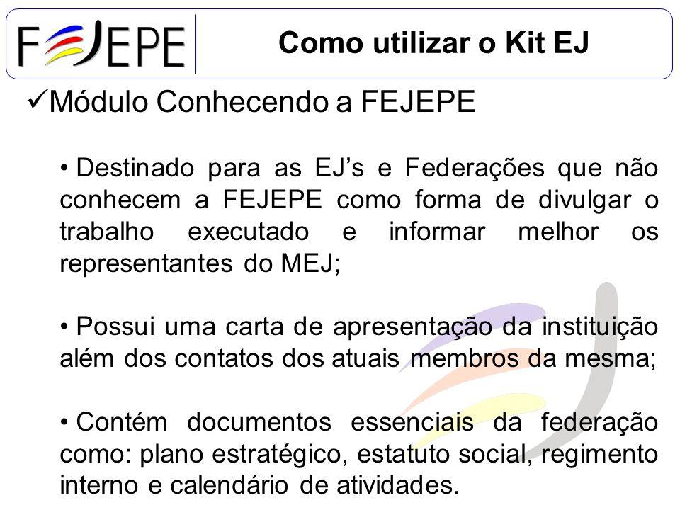 Módulo Conhecendo a FEJEPE