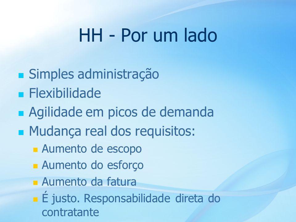 HH - Por um lado Simples administração Flexibilidade