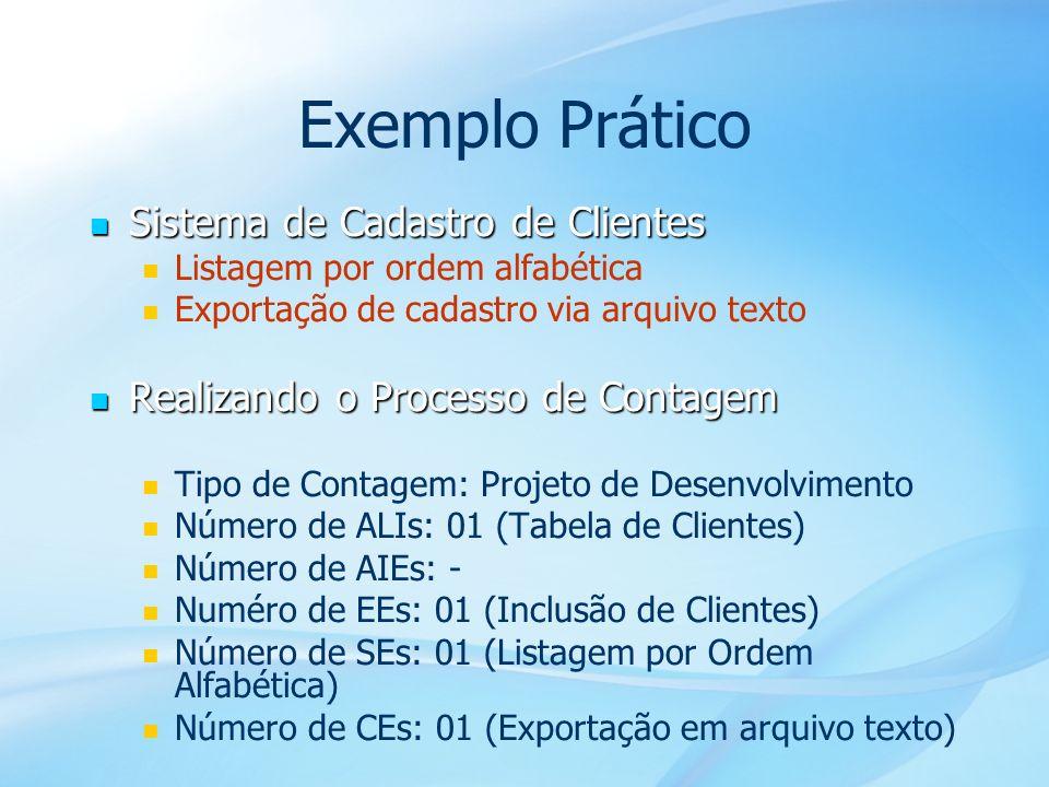 Exemplo Prático Sistema de Cadastro de Clientes