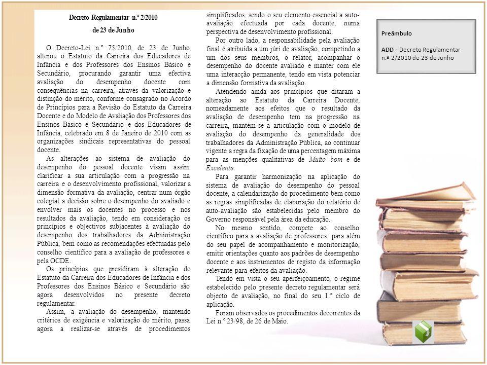 Decreto Regulamentar n.º 2/2010