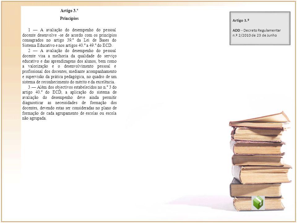 Artigo 3.º Princípios.