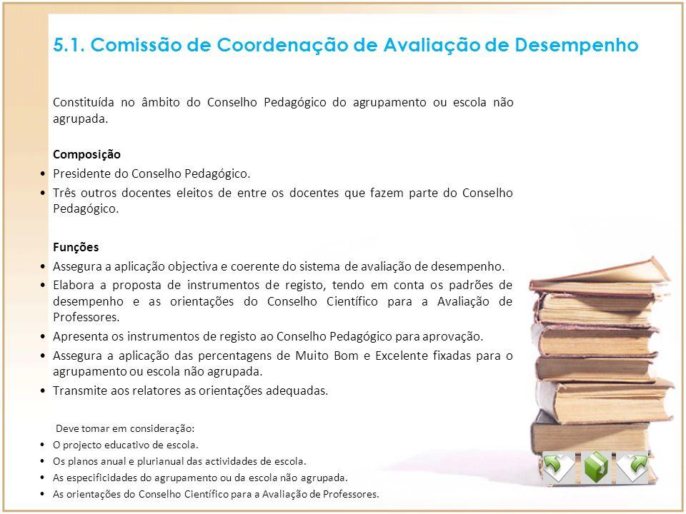 5.1. Comissão de Coordenação de Avaliação de Desempenho