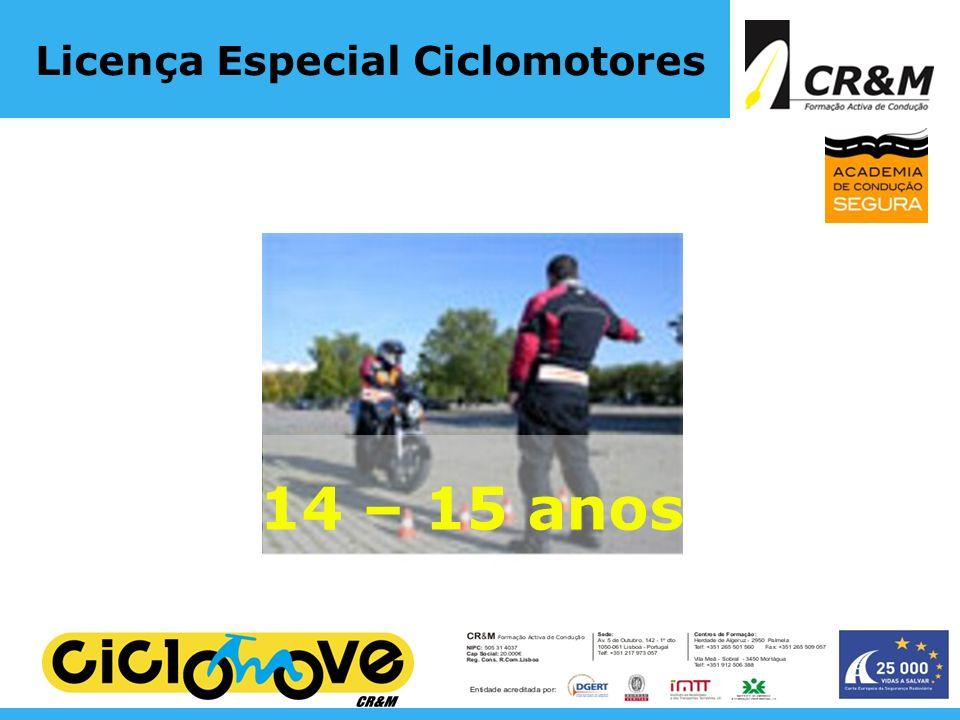 Licença Especial Ciclomotores