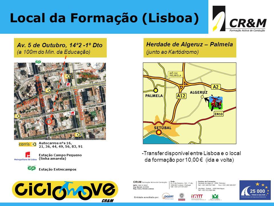Local da Formação (Lisboa)