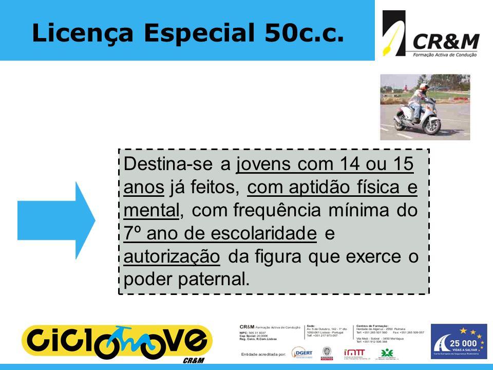 Licença Especial 50c.c.