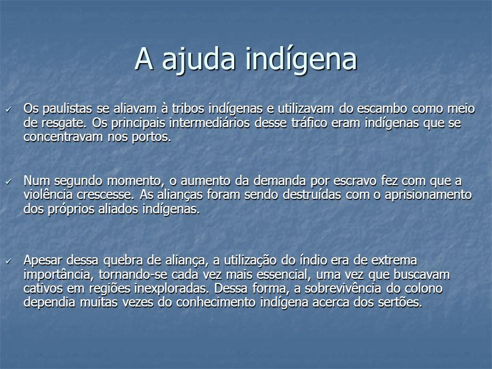 A ajuda indígena