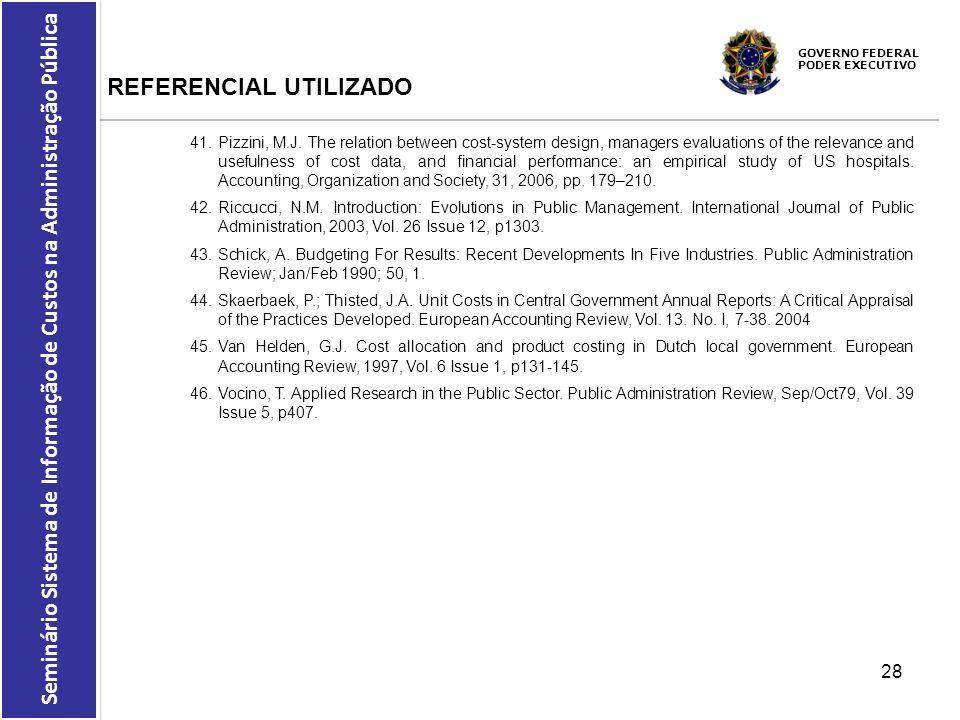 REFERENCIAL UTILIZADO