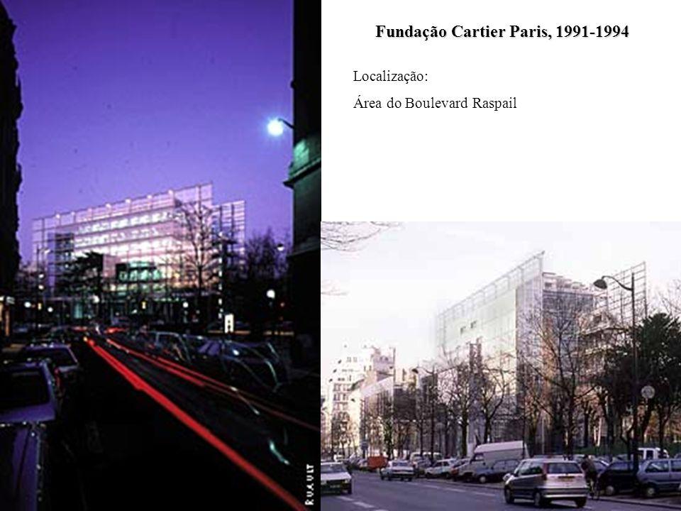 Fundação Cartier Paris, 1991-1994