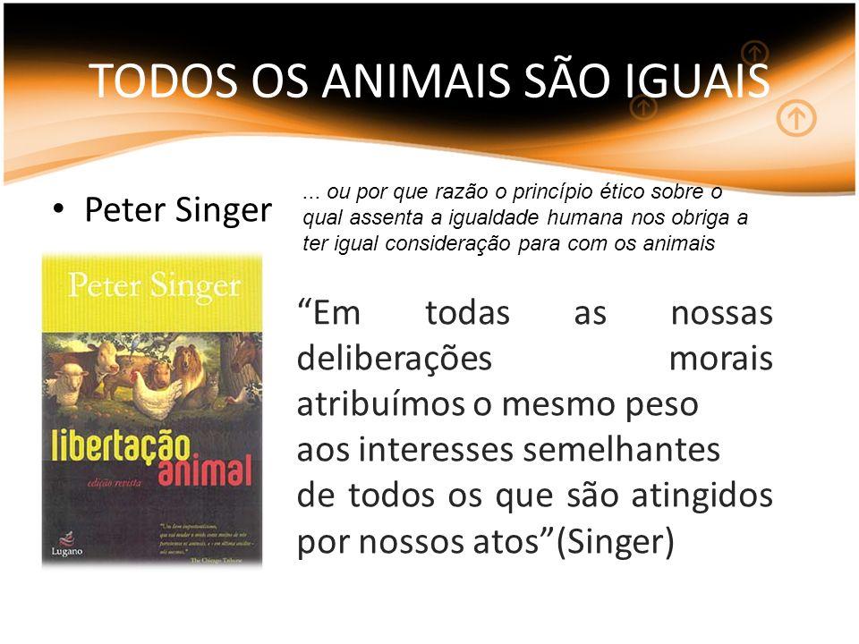 TODOS OS ANIMAIS SÃO IGUAIS