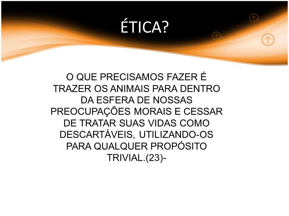 ÉTICA