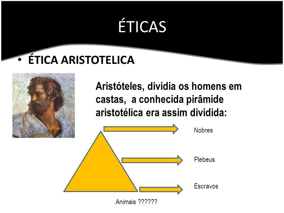 ÉTICAS ÉTICA ARISTOTELICA