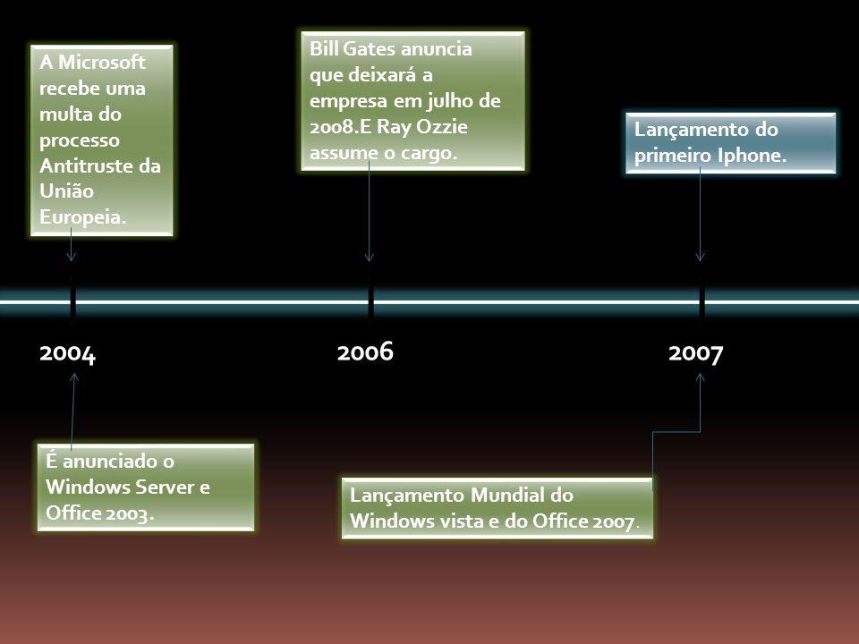 Bill Gates anuncia que deixará a empresa em julho de 2008