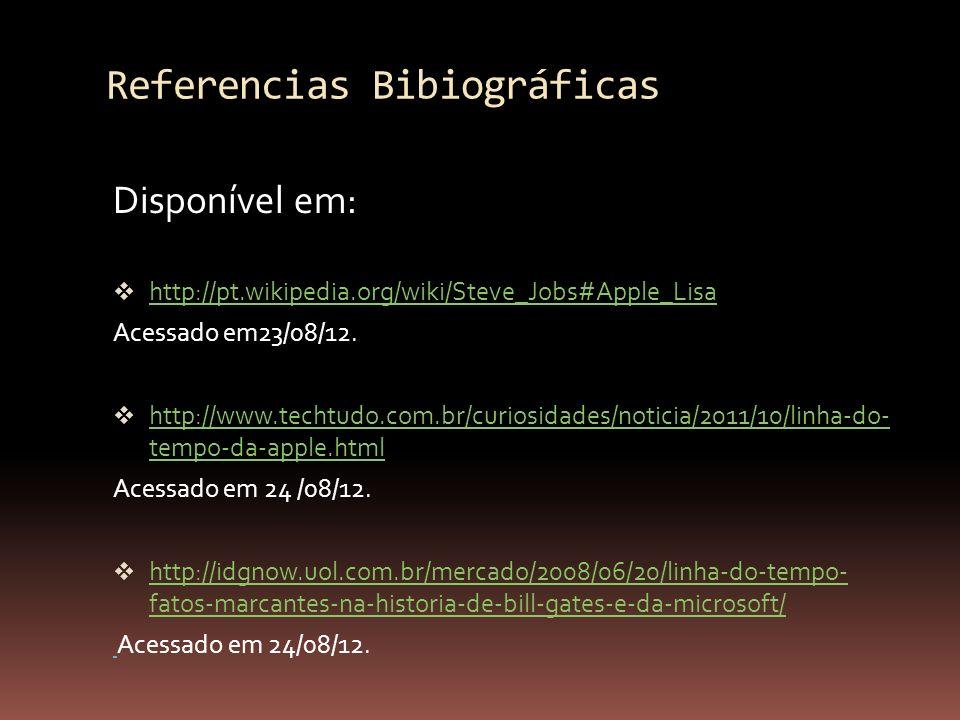 Referencias Bibiográficas
